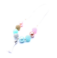 Chunky Bubblegum Necklace - Style RZ