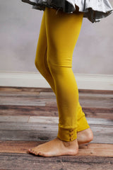 Sutton Button Leggings - Dijon