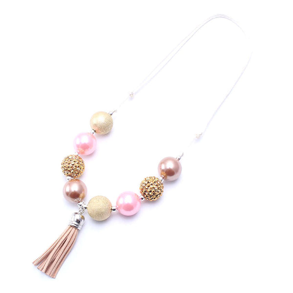 Chunky Bubblegum Necklace - Style D