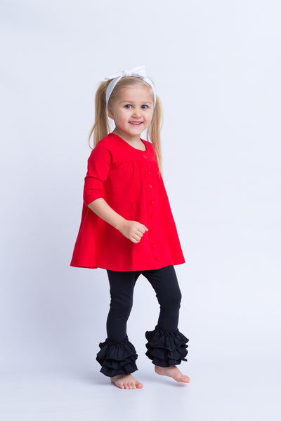 Aliana Top - Red