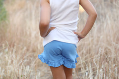 Poppy Shorts - Cornflower