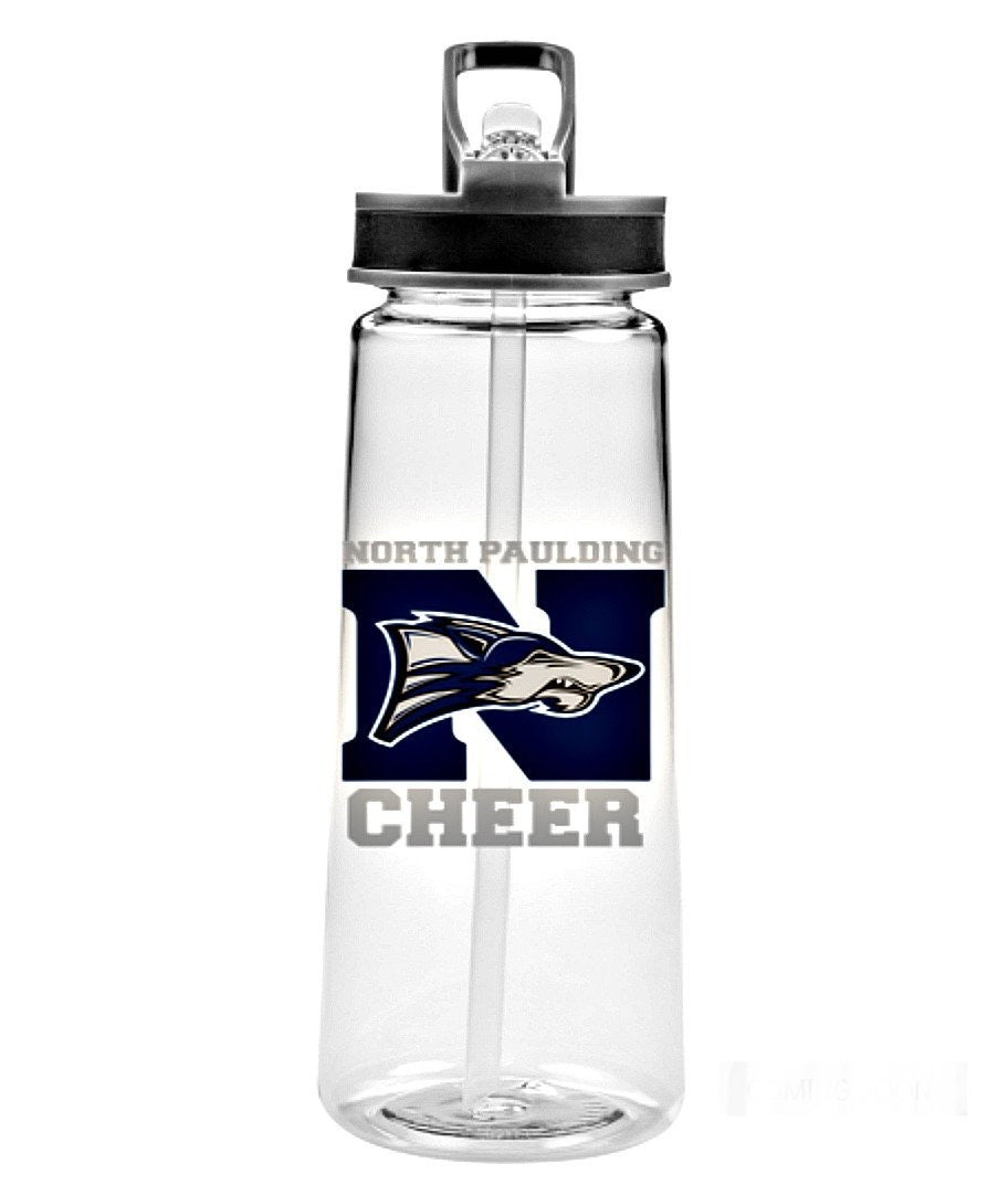 Sports Bottle - 22oz Cheer