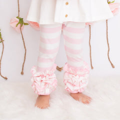 Icing Ruffle Leggings - Butterfly Kisses