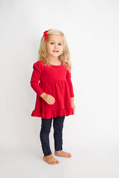 Addison Top - Firecracker Red