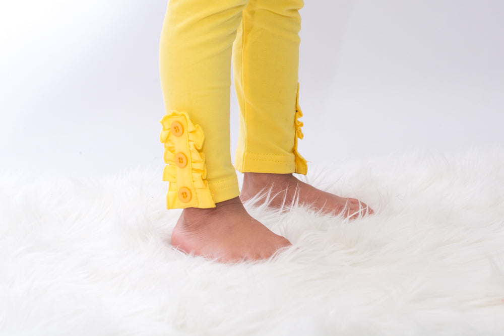 Blakely Leggings - Daffodil