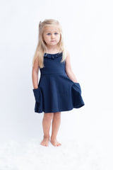 Kendal Dress - Navy