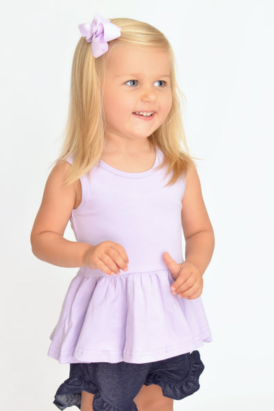 Emmy Peplum - Light Purple