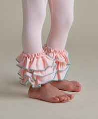 Bella Triple Ruffle Pants - Funfetti