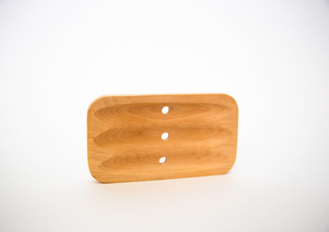 Wooden Soap Dish - Naked Bar Soap Co.