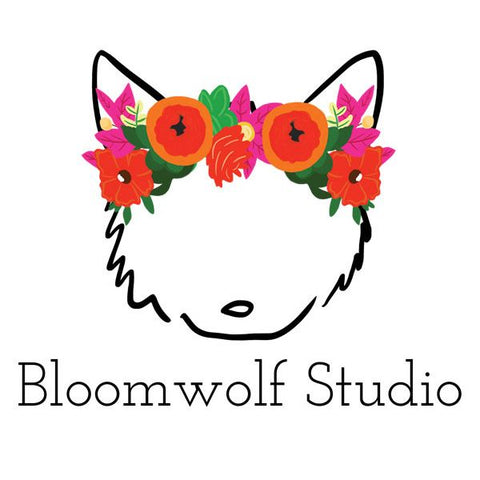 Bloomwolf Studio Greeting Cards - Naked Bar Soap Co