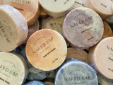 Salt Soap Samples - Naked Bar Soap Co