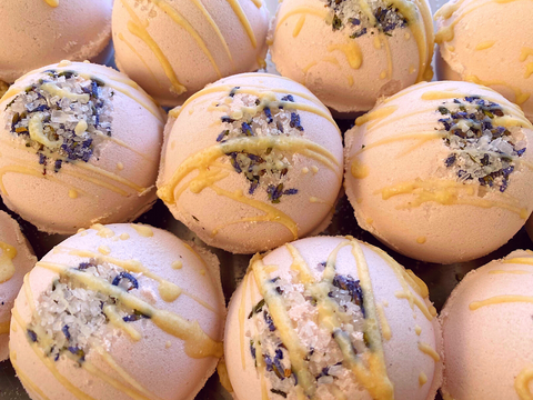 French Lavender Butter Bomb - Naked Bar Soap Co