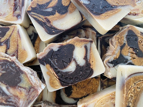 Manuka Cocoa Artisan Soap - Naked Bar Soap Co