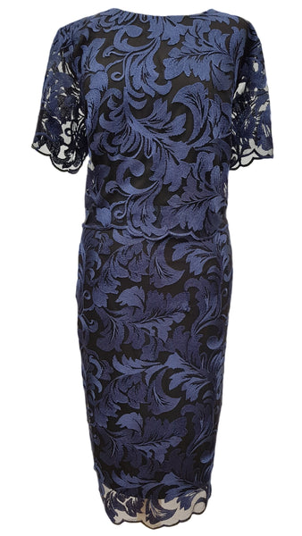 Phase Eight Adelphia Lace Layer dress Size 8 Worn once RRP £140!!