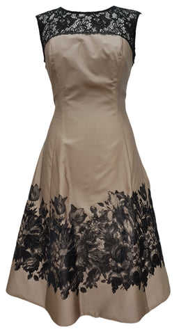 Phase Eight Audley Lace fit and flare dress Size 12 Worn once RRP £150!!!
