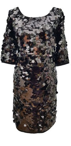 Phase Eight Belda Sequin dress Size 10 worn once RRP£120!!