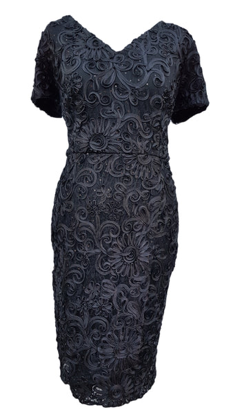 Phase Eight Demi tapework Sequin dress Size 10 worn once £140!!