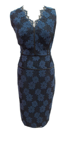 Phase Eight Farrah Lace dress Size 14 Worn once RRP £130!!