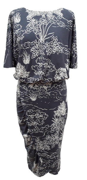 Phase Eight Ravine tree print dress Size 12