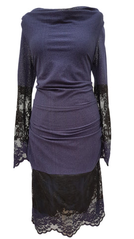 Sapphire Delicate Lace dress by Phase Eight Size 16