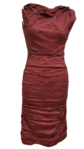 Phase Eight Skyler Crush red dress Size 8