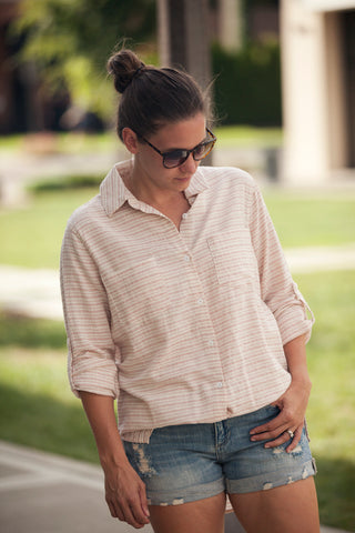 Jodi Stripe Button Down