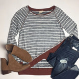 Hadley stripe top