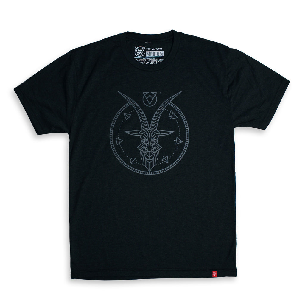 VCVM061A: Goat Logomark Shirt by Brian Steely (Black)