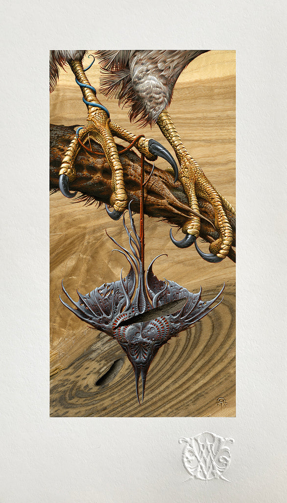 "VCVM140: ""Venin"" Art Print by Aaron Horkey"