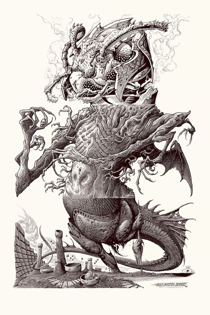 "VCVM138: ""Mario's Fever Dream"" Art Print by Aaron Horkey, Mike Sutfin, and Brandon Holt"