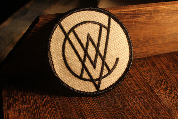 VCVM040: Monogram Logo Embroidered Patch (Glow in the Dark)