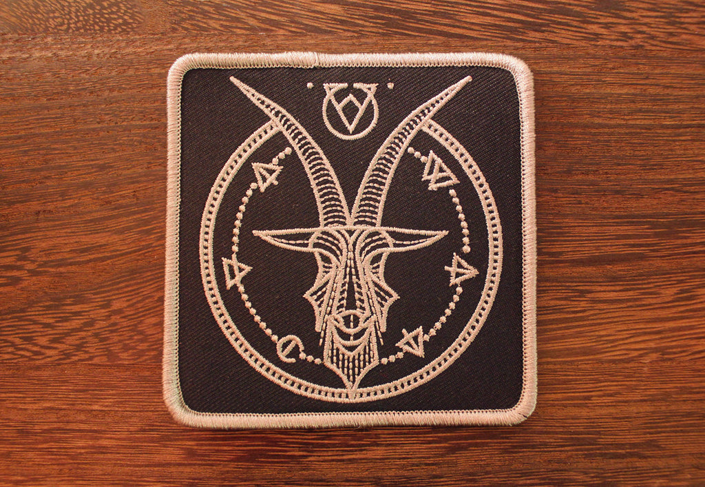 VCVM064: Goat Logmark Embroidered Patch