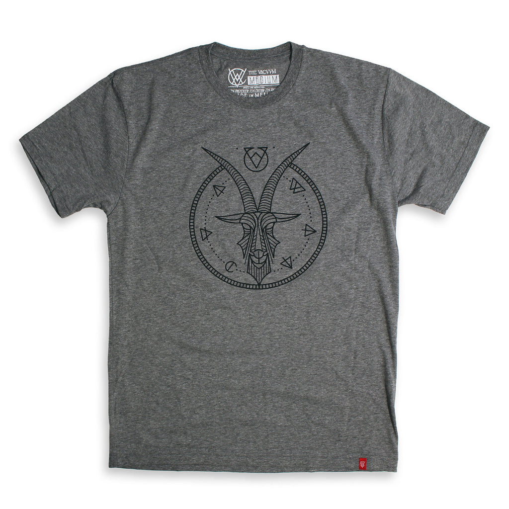 VCVM061B: Goat Logomark Shirt by Brian Steely (Grey)