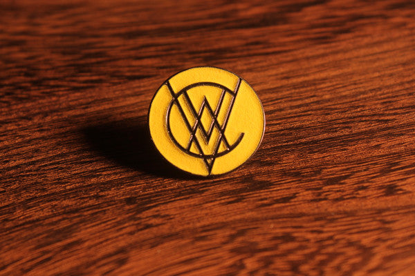 VCVM038: Monogram Logo Lapel Pin (Glow in the Dark)