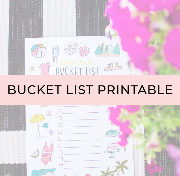 alexa z design bucket list