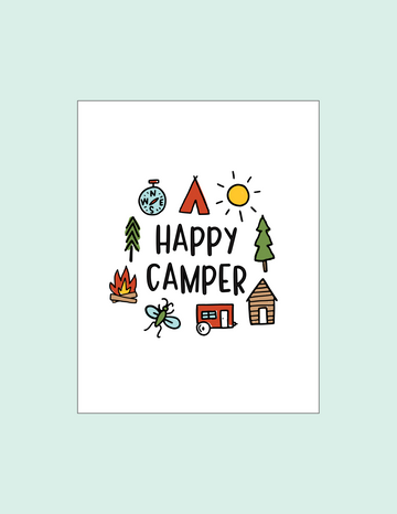 Happy Camper Printable