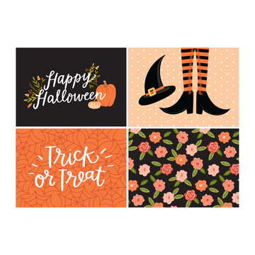 Halloween notecards alexa z design