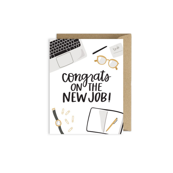 New Job Congratulations Card