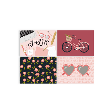 Sweet Hello Notecard Set