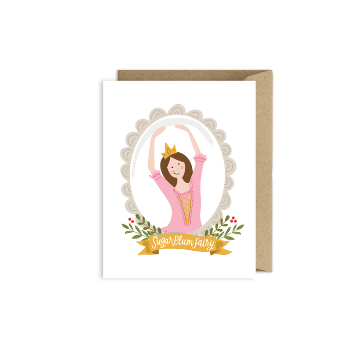 Sugar Plum Fairy Nutcracker Card