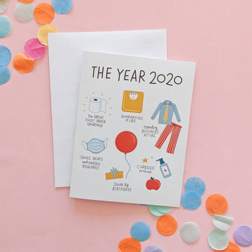 The Year of 2020 Card