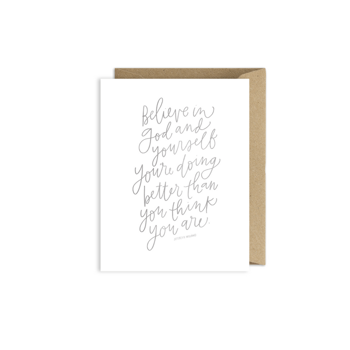 LDS Greeting card by alexa zurcher
