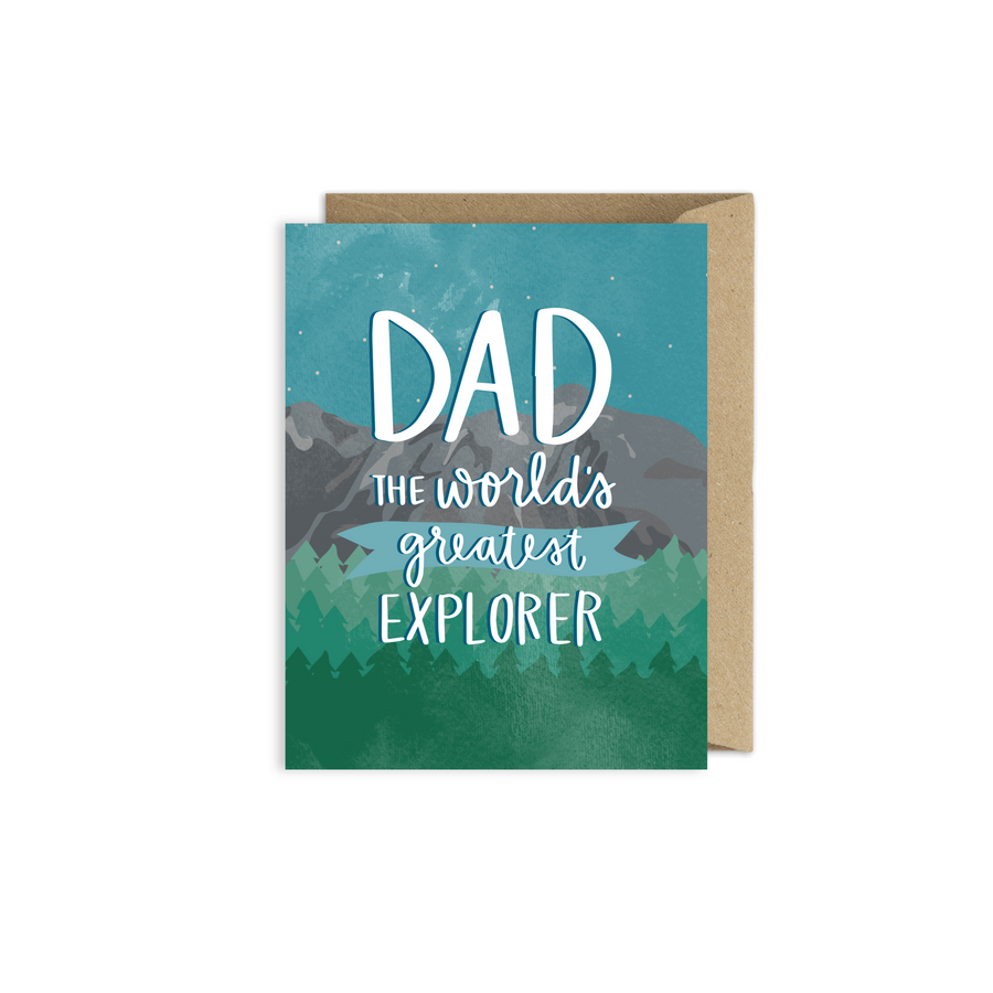 father's day explorer card