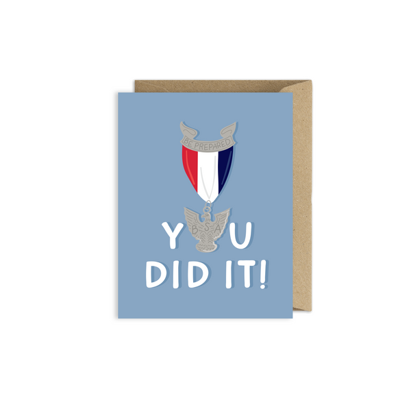 photo relating to Eagle Scout Congratulations Card Printable named Eagle Scout Congratulations Card