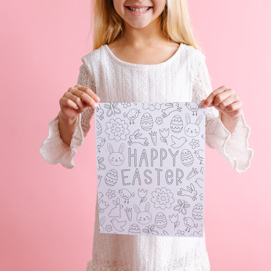 Easter Coloring Posters and Coloring Pages
