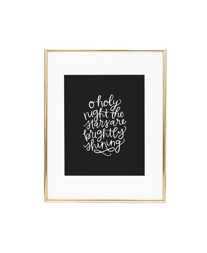 O Holy Night Print