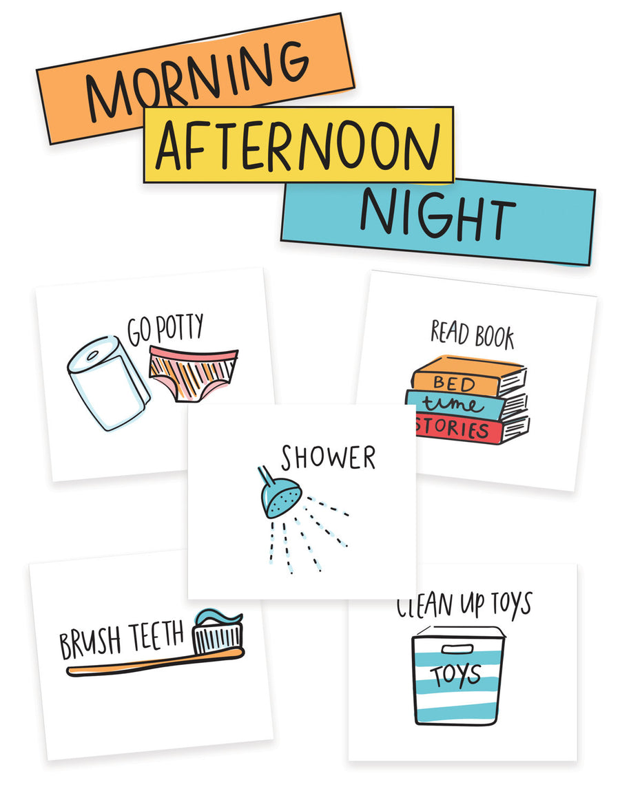 Kids Chore Chart Cards