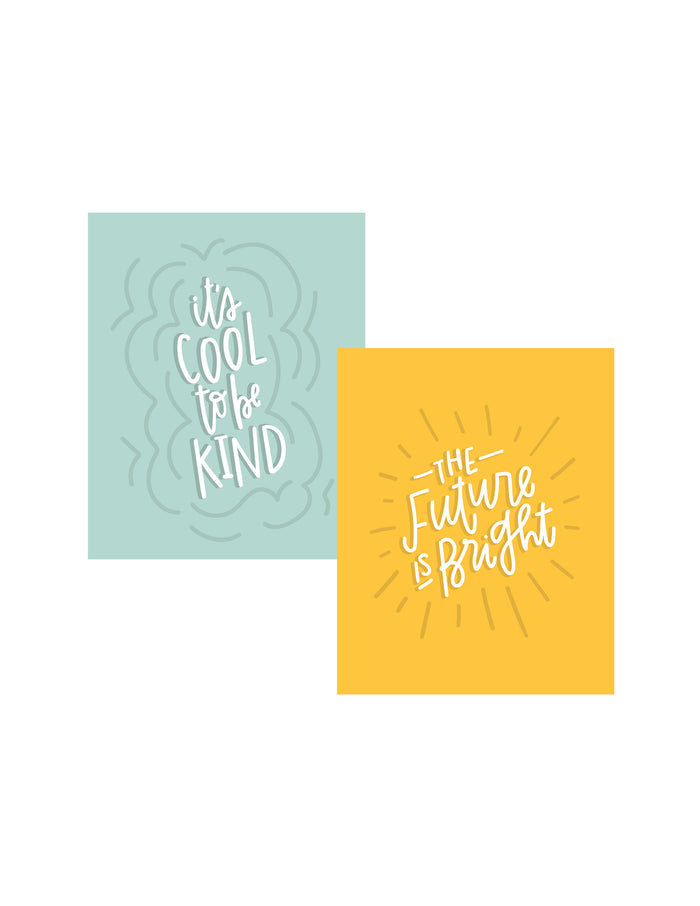 DOUBLE PACK Kind Kids Art Prints