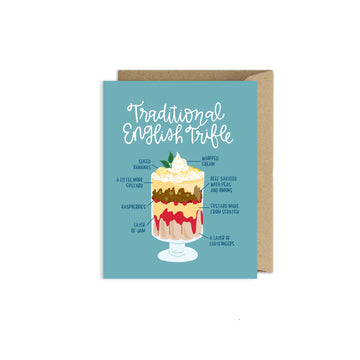FRIENDS English Trifle Card