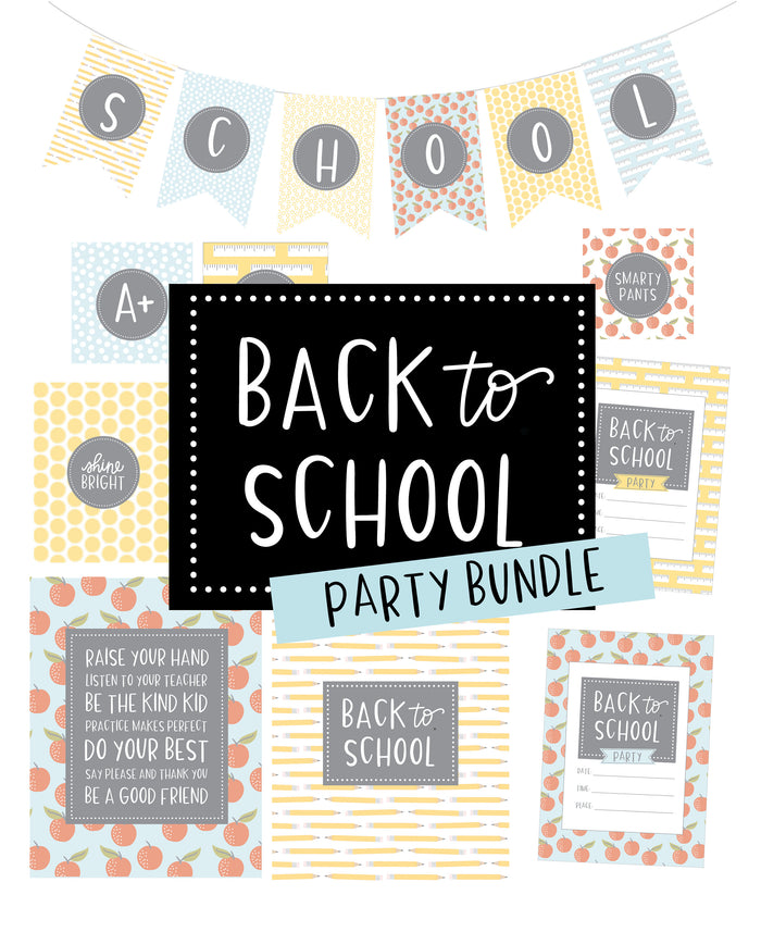 Back to School Party Package